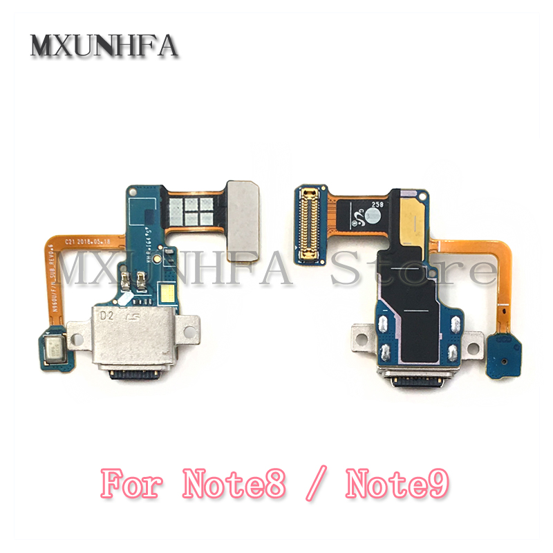 USB Charging Charger Port Dock Connector Flex Cable For Samsung Galaxy Note 8 N950F N950U Note 9 N960F N960U Replacement Part