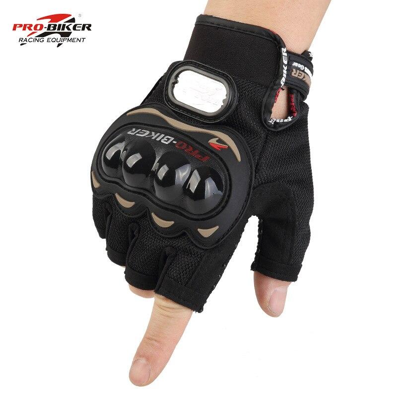 VERKAUF!! Moto rbike halb finger moto rcycle handschuhe winter sommer leder luvas para moto moto rbike moto kreuz downhill biker handschuhe