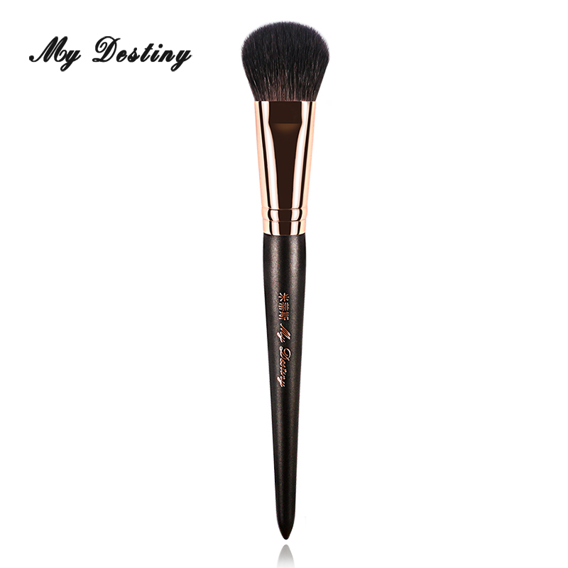 MY DESTINY Goat Hair Small Blush Brush Makeup Brushes Make Up Tool for Blusher Pinceis Pincel Maquiagem Pinceaux Brochas 025 energy brand blush powder brush makeup brushes make up brush brochas maquillaje pinceaux maquillage pincel maquiagem s115sp
