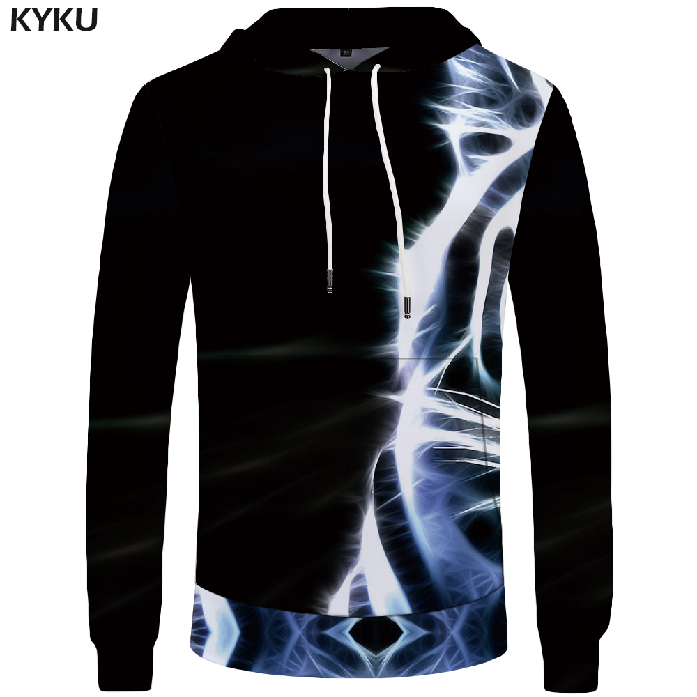 KYKU Tiger Hoodies Men Funny Hoddie Animal Mens Clothing Sweatshirts Sweatshirt Pocket 3d Hoodies Hood Hip Hop Print