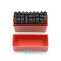 27pcs Set Free Shipping Craft Die Letter From A To Z Steel Stamp Punch Jewelers Set