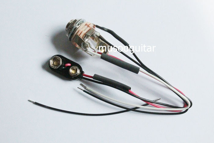popular guitar jack wiring buy cheap guitar jack wiring lots from switchcarft stereo jack chrome wire battery clip for guitar or bass