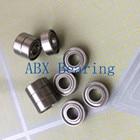 Free Shipping 10 PCS R168ZZ R168 Bearings 1/4 x 3/8 x 1/8 Inch Ball Bearings RI-614ZZ