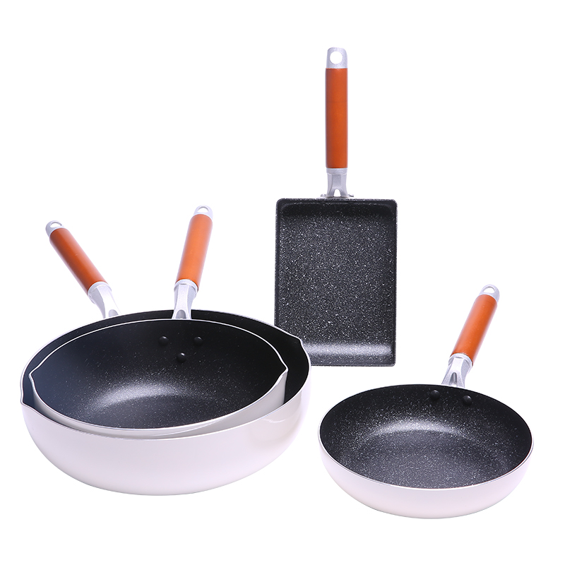 Nonstick Frying Pan with Nanoscale stone Coating Induction cooking,Oven & Dishwasher safe panela de pot Griddles Grill Pans pot
