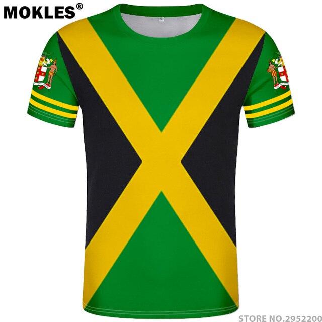 42a275d8bc6f JAMAICA t shirt diy free custom made name number jam t-shirt nation flag jm  Jamaican country college print photo logo 0 clothing