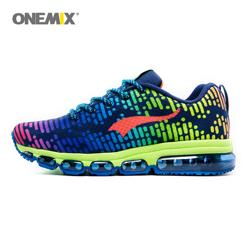 ONEMIX Running Shoes Women and Men 2017 Light Breathable Sports Shoes Air Shoes Outdoor Sports and Jogging Size EU35-46 1180 цена