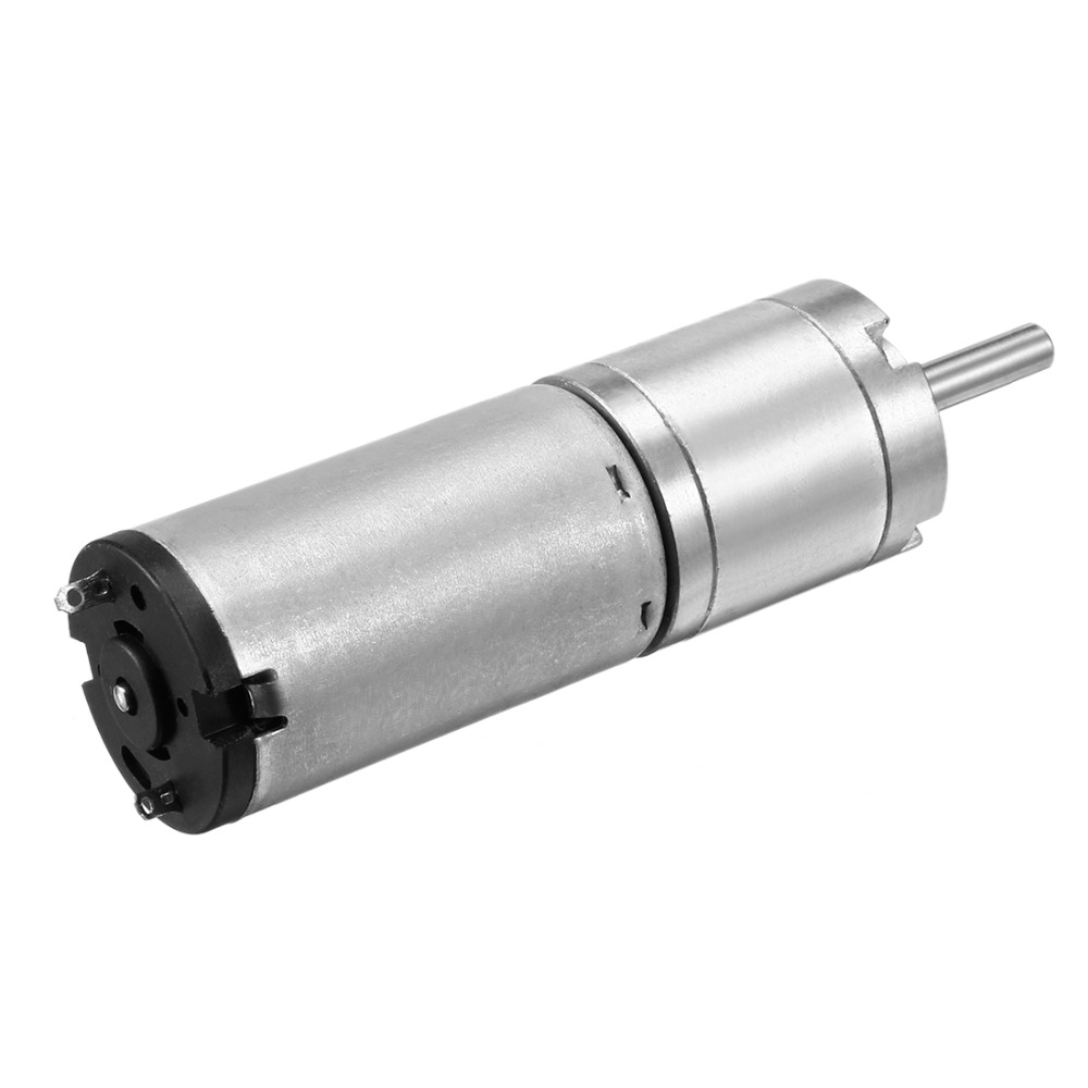 UXCELL Hot Selling 1PCS DIY Planetary Motor DC 12V 24RPM w Carbon Brush Gearbox Speed Reducer 22mm Diameter Great Replacement uxcell hot selling 1pcs diy planetary motor dc 12v 5 2rpm w carbon brush gearbox speed reducer 36mm diameter great replacement