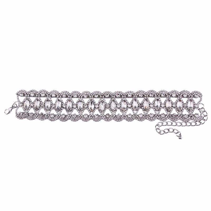 HTB1g06bOFXXXXbdXVXXq6xXFXXXy Crystal Rhinestone Choker Necklace – Various Styles