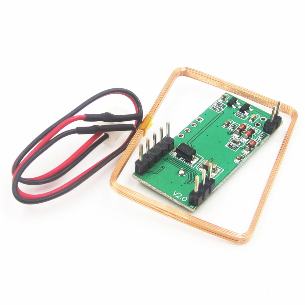 Integrated Circuits 125khz Rfid Reader Module Rdm6300 Uart Output Based Access Control System Using 8051 Electronic For Arduino In From