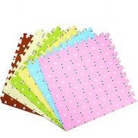 16 PCS kinder Puzzle Übung Spielen Matte mit EVA Schaum Verriegelung Fliesen Kleinkind Krabbeln Teppich Boden Teppich-in Spielmatten aus Spielzeug und Hobbys bei