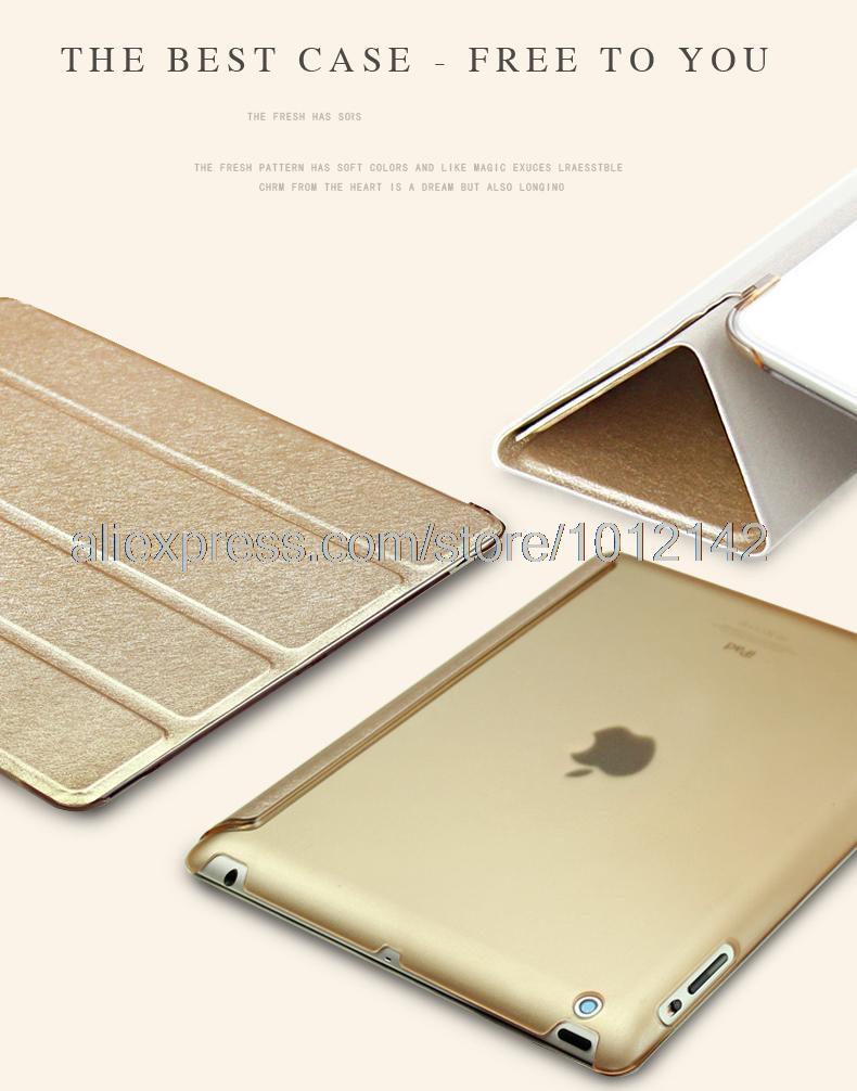 Impecable funda protectora de cuero de lujo para Apple iPad 2 3 4 de - Accesorios para tablets - foto 2