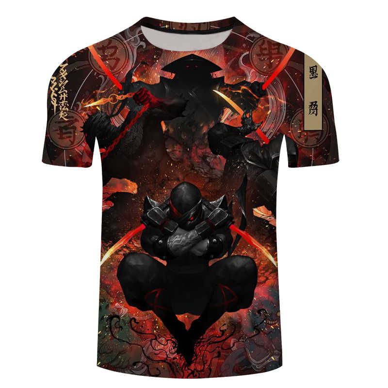 Новинка 2018, мужская летняя футболка с принтом в покер с черепами, Мужская футболка с короткими рукавами, 3D футболка, Повседневная дышащая футболка, футболка большого размера