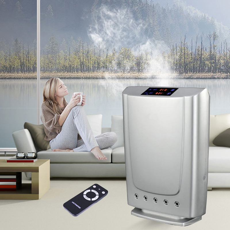 Household Air Purifier Ozone Plasma ionizer Air Purification for Home/Office Smoke Dust removal And Water Sterilization Health цена и фото