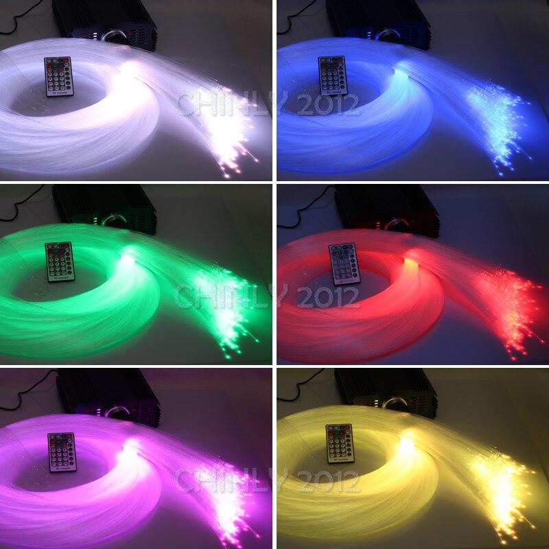 Image 5 - DMX 45W RGB 28key remote LED Fiber Optic  star ceiling kit light 1000pcs 5m 0.75mm for light fixture of ceiling-in Optic Fiber Lights from Lights & Lighting