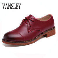 Genuine Leather Oxford Shoes Women Brand Oxfords Women Shoes Lady Casual Moccasins Loafers Ladies Shoes Sapatilhas