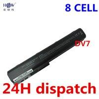 5200MAH 8cells Laptop Battery ForHP Pavilion DV7 DV7 1000 DV7 3000 Pavilion DV8 DV8 1000 FOR