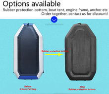 Inflatable fishing solar marine boat rubber bottom customized yacht accessories marine
