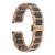 Faixa de relógio de cerâmica 22mm para samsung gear clássico s3/fronteira butterfly buckle strap correia de pulso pulseira preta + primavera Bar