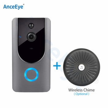 1080P Chime IP Video Intercom WI-FI Video Door Phone Door Bell WIFI Doorbell Camera Apartments IR Alarm Wireless Security Camera 1