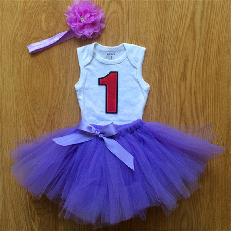 1st primera bebé 1 año cumpleaños vestido para princesa ropa ...