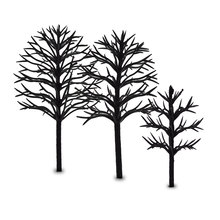 4cm-12cm model making architecture each size ho, n ,g scale train layout miniature plastic tree arm