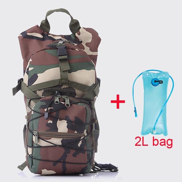 2L Water Bag + Hydration Backpack 4 Colors Outdoor Sport Waterproof Hiking Cycling Bike Bicycle Camel Water Bladder bag