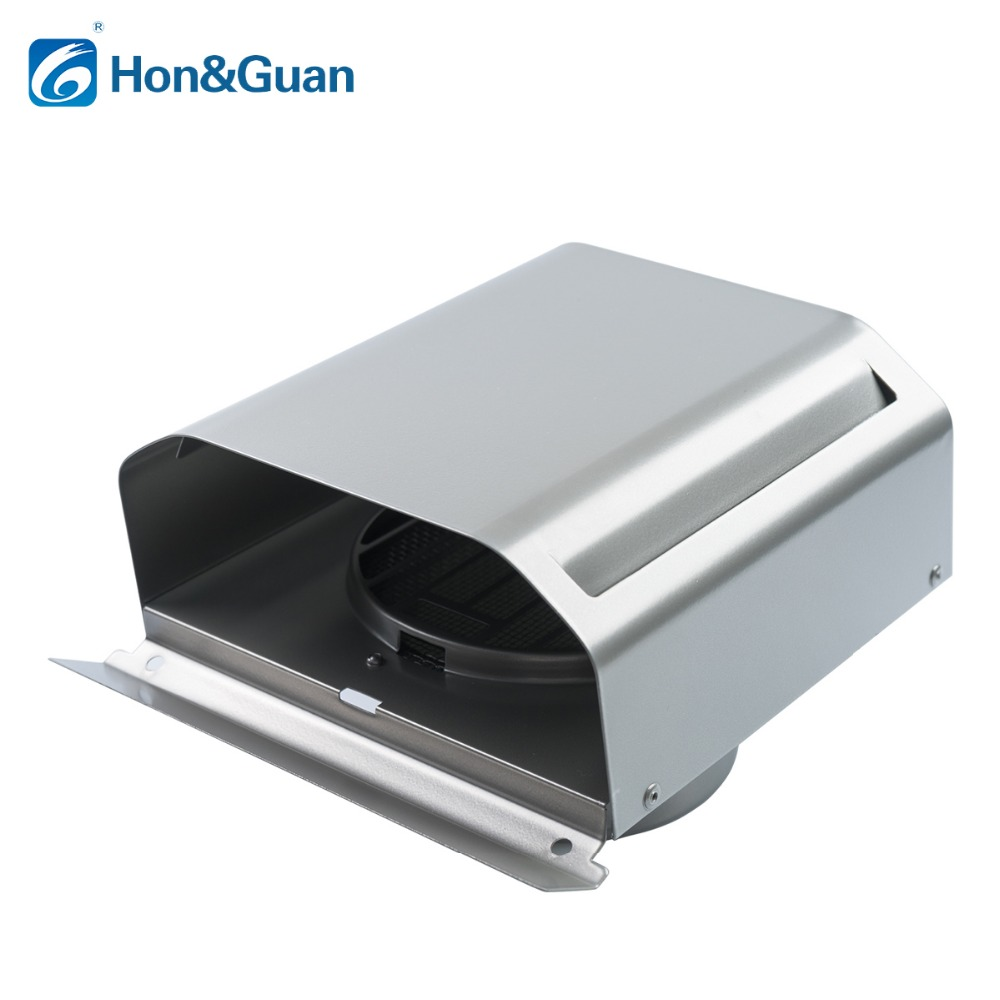 Hon&Guan 4 Platonic Solid Air Vent Grille Ccover - Stainless Steel Ventilation Hood hon