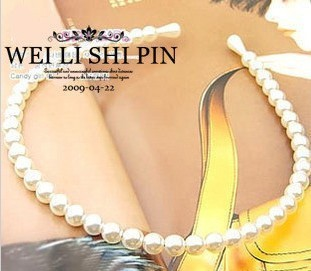 accessories hot-selling wu peici pearl hair bands headband hair accessory multicolor