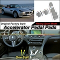 Car Accelerator Pedal Pad / Cover of Original Factory Sport Racing Model Design For BMW Z8 1999~2003 Tuning