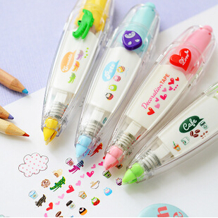 Korea Stationery Cute Novelty Decorative Correction Tape Correction Fluid School & Office Supply