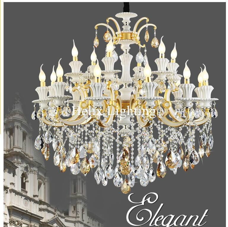 New Arrival Luxury Jade Chandeliers D105cm Zinc Alloy Jade Crystal Chandelier Lamp 18L AC LED K9 Chandelier For Home LightingNew Arrival Luxury Jade Chandeliers D105cm Zinc Alloy Jade Crystal Chandelier Lamp 18L AC LED K9 Chandelier For Home Lighting