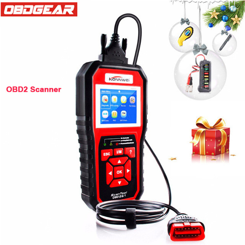 2018 Best OBD 2 Autoscanner OBD2 Scanner KONNWEI KW850 Full ODB2 Scanner Supports Multi-languages ODB 2 Auto Diagnostic Scanner 5pcs rreasonable price newest renault can clipv168 obd2 auto car scanner sustain multi languages auto scanner renault