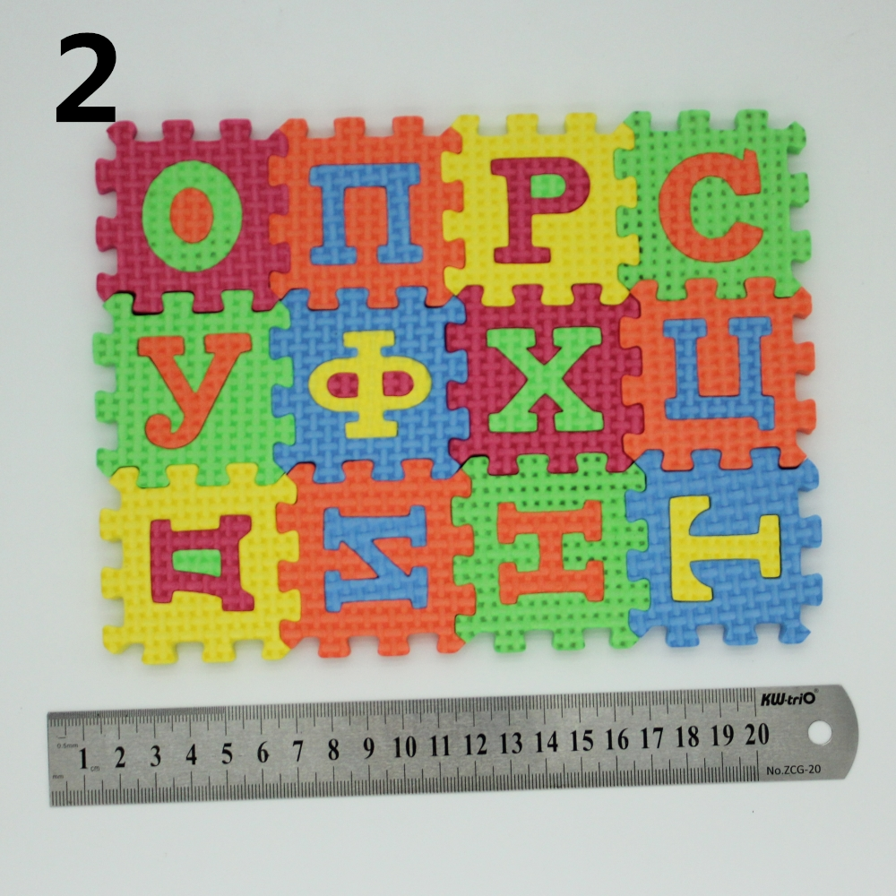 Russian-alphabet-letter-toys-Kids-baby-puzzle-mats-55-55MM-carpet-babies-33PCS-Russian-Language-foam-learning-toy-3