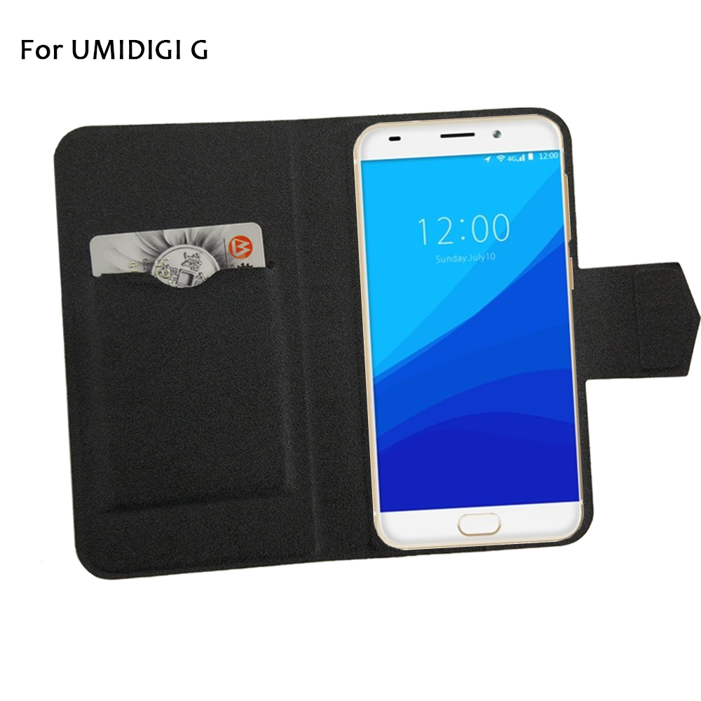 0ad38be23 5 Colors Hot! UMIDIGI G Phone Case Leather Cover