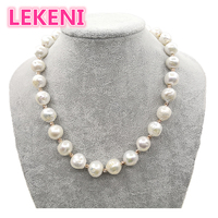 high quality Really pure natural Metallic luster Big pearl 11 15mm Baroque Irregular Pearl Necklace for women Free shipping