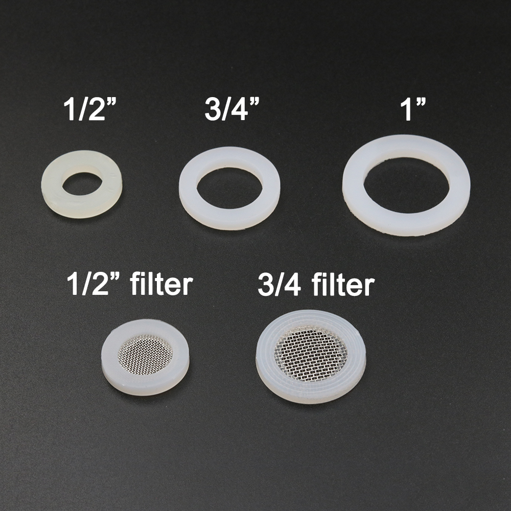 1 2 quot 3 4 quot 1 quot Silicone gasket o ring shower plumbing hose seal ring oring set water seal o ring 10pcs 50pcs 100pcs dn15 dn20 dn25 in Gaskets from Home Improvement