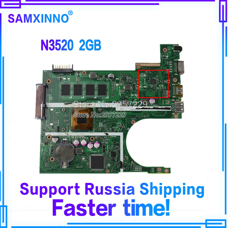 все цены на X200MA Motherboard REV.2.1 N3520/2GB RAM For ASUS F200MA F200M laptop Motherboard X200MA Mainboard X200MA Motherboard 100% OK онлайн