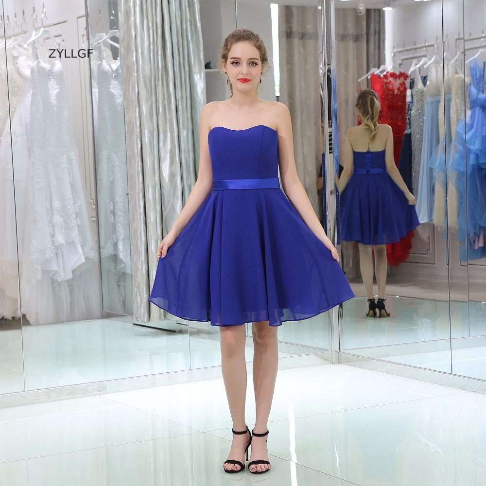 e6a0ae705d5 Cheap Short Royal Blue Bridesmaid Dresses - Gomes Weine AG