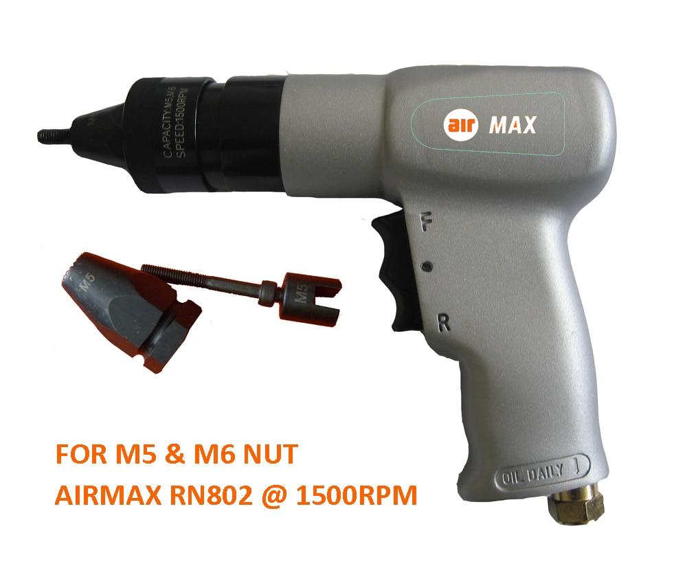 Kniedžių veržlių M5, M6 oro traukimo įrenginys RN802 (neįskaičiuotas muito mokestis)