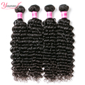 Malaysian Virgin Hair Weave 4 Bundles Malaysian Curly Virgin Hair Remy Human Hair Bundles Malaysian Deep Curly Virgin Hair Weave