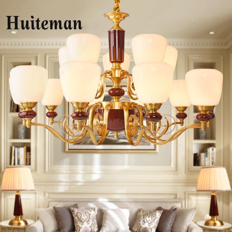 Modern Chandelier Living Room lustres de Decoration Tiffany Pendants and Chandeliers Home Lighting fixtures Indoor hanging Lamp
