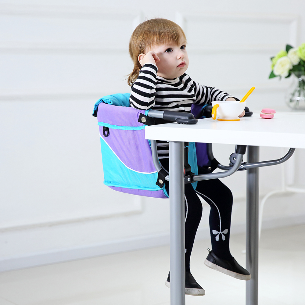 Multifunctional portable folding baby highchairs dining for Child on chair