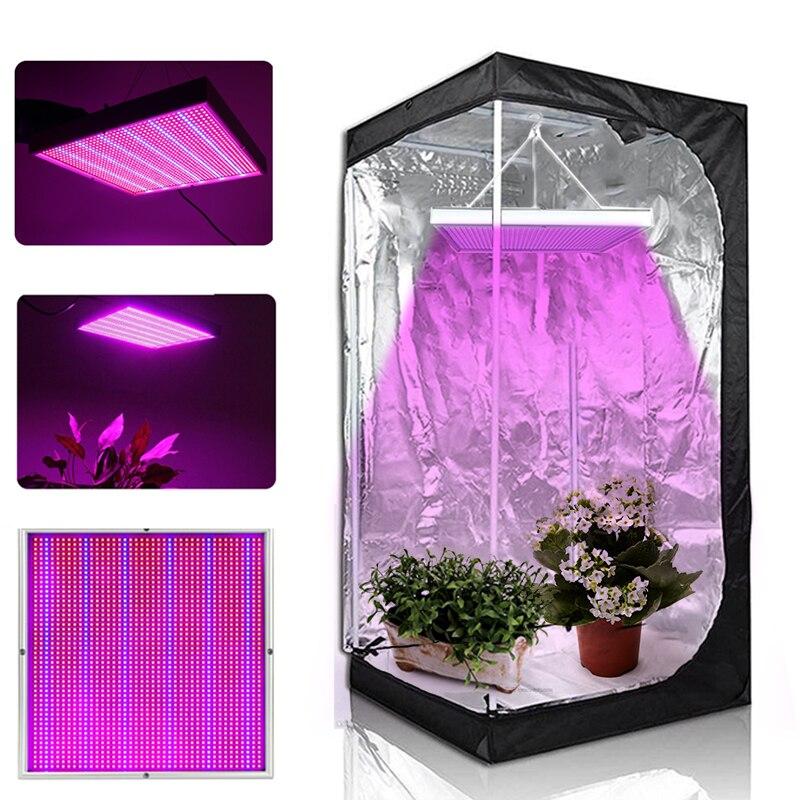 Cultiver tente 1000 W lampe pour plantes 1365 LED s LED pousser lumière Phyto lampe plein spectre ensemble lampe de croissance pour plante d'intérieur semis