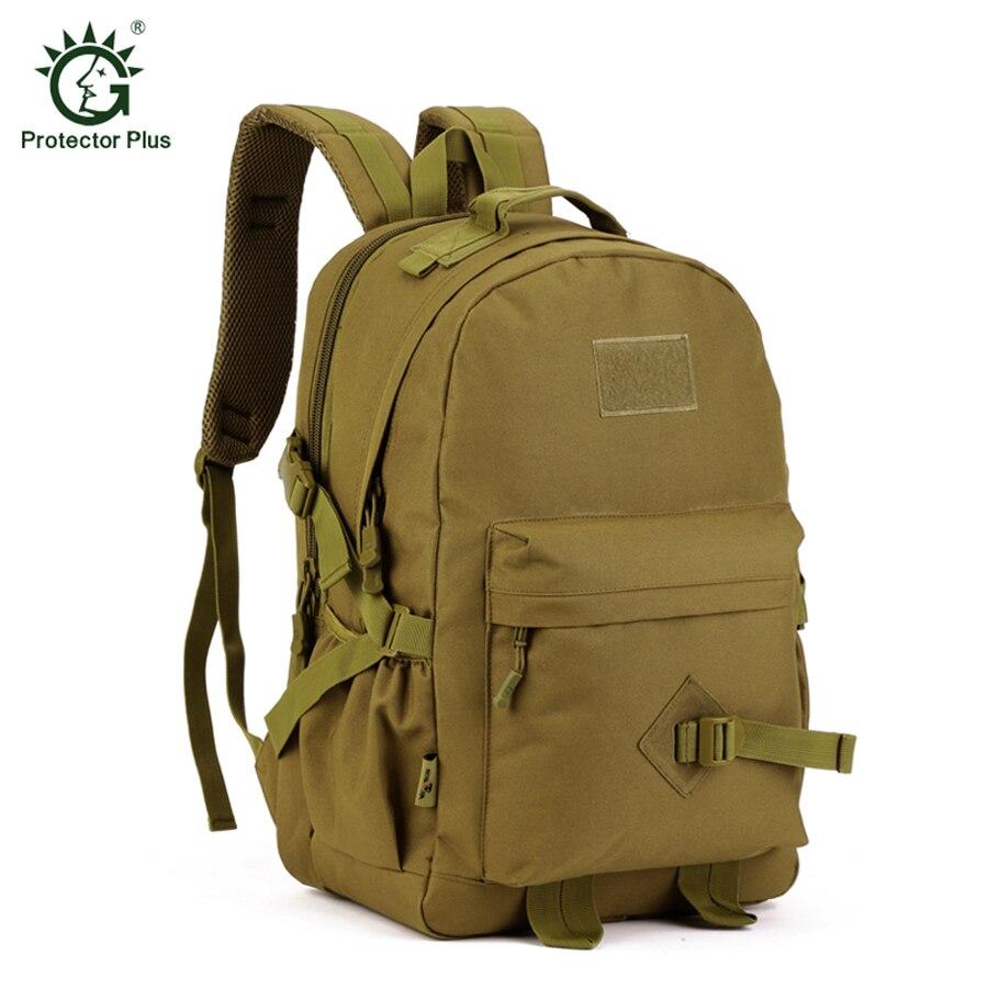 프로텍터 플러스 40L 야외 배낭 하이킹 배낭 스포츠 남자 여행 배낭 대용량 학교 배낭 가방