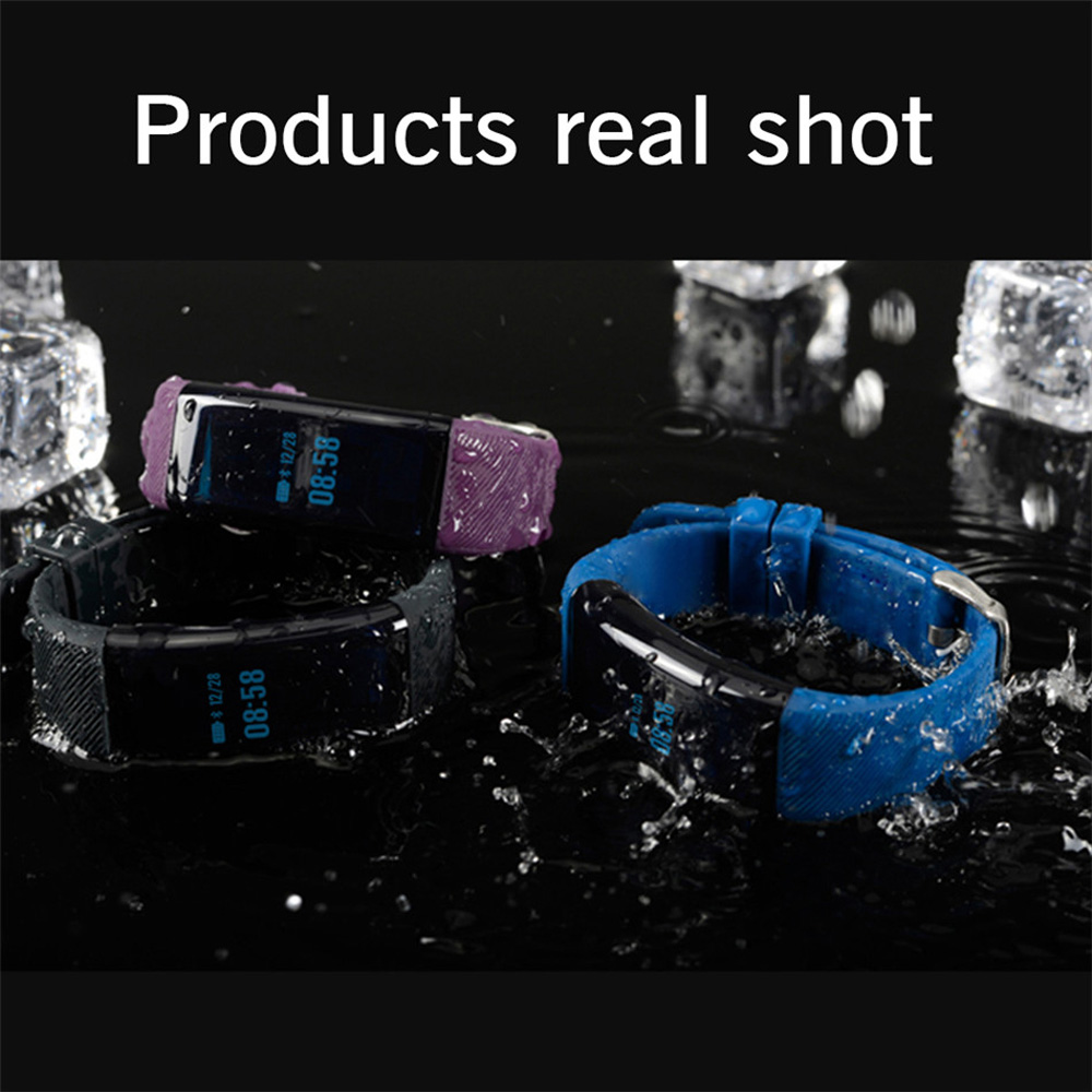 Waterproof Smart Band DF30 Bluetooth Smart Bracelet Wristband with Blood Pressure Heart Rate Oxygen Smartband for