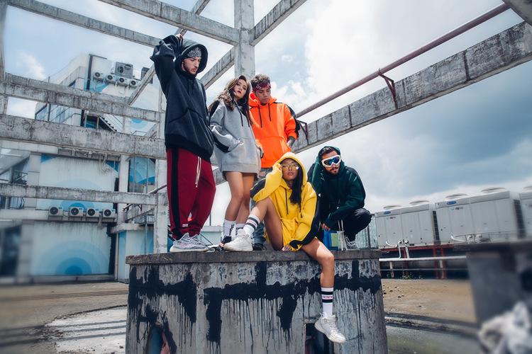 Aolamegs Hoodies Men Side Striped Hood High Street Pullover Cotton Fashion Hip Hop Streetwear Casual Big Pocket Hoodie Autumn (5)