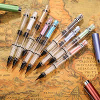 FangNymph Colorful High Quality Tap Water Soft Pen Piston Pen Brush Fountain Pen Large Capacity Ink Storage Student Stationery