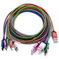 1 M C 3.1 Tipo C Cable USB C 3.1 a USB 1 medidor de Nylon Trenzado USB Cable de Datos Conector De Metal Para El Tipo C Dispositivos Envío gratis