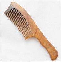 Wooden Comb Wholesale Price Natural Ebony Hair Comb Wooden Hair Comb 20cmx5cm