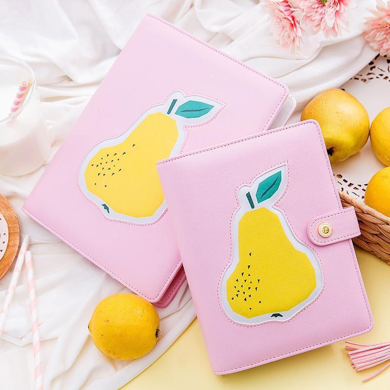 Lovedoki 2018 Korean Spiral Notebook Kawaii cute Notebooks Weekly Planner A5A6A7 persoanl diary book office and school supplies